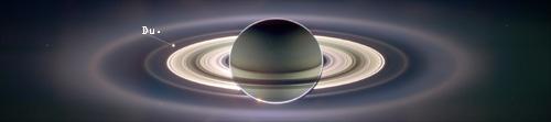 Der Saturn und dein Heimatplanet