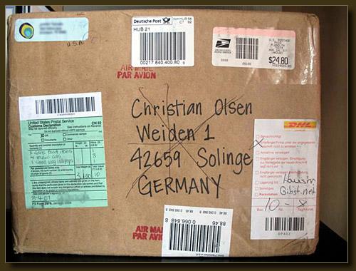 Adresse Auf Paket