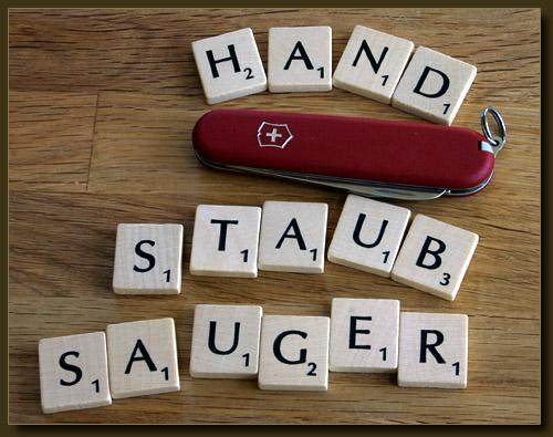Schweizer Handstaubsauger