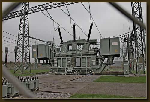 Transformator, Umspannwerk Halfeshof, Solingen