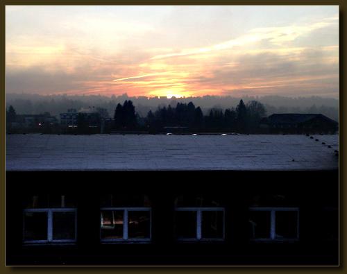 Blick vom Grünewald Richtung Dorper Skyline