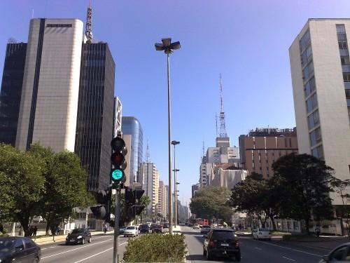 Avenida Paulista  - Blick nach Nordwesten