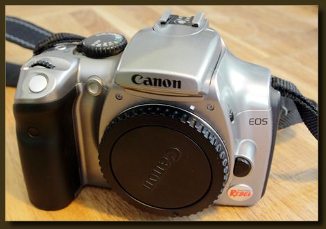 Die alte Dame - Canon EOS 300D