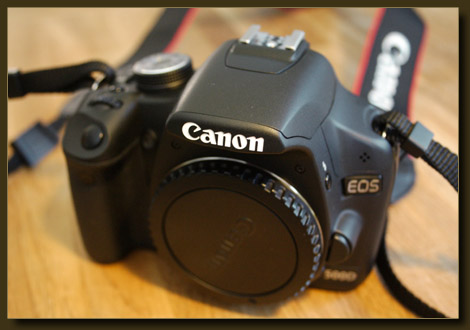 Die Neue - Canon EOS 500D