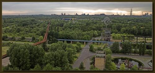 Blick über das westliche Ruhrgebiet