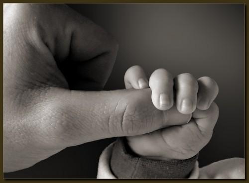Großer Daumen, kleine Hand