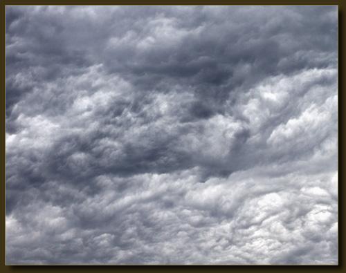 Wolken - wie gemalt