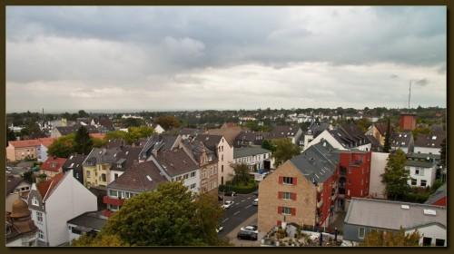 Der Blick nach Nordwesten ins Rheinland