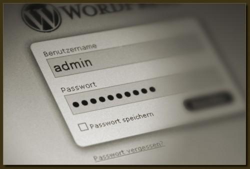 Unverzichtbar - Passwörter