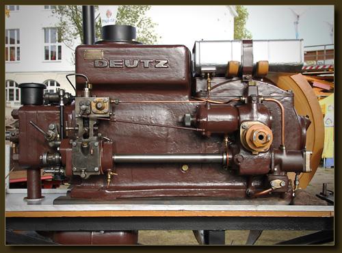 Deutz Stationärmotor