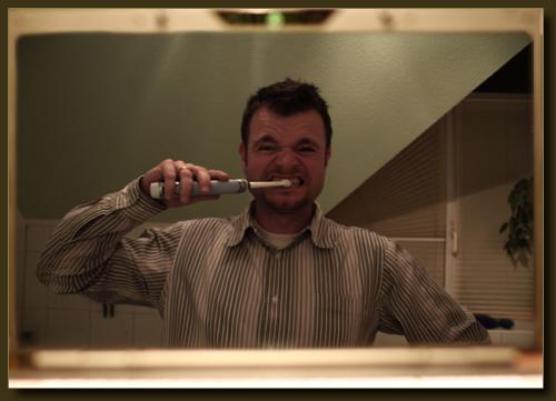 Badezimmerspiegeldisplay