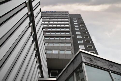 Turmhotel Solingen Froschperspektive