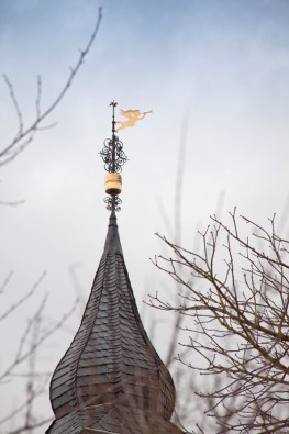 Kirchturm in Gruiten