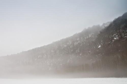 Wupperberge im Nebel