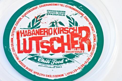 Habanero Kirsch Lutscher Verpackung
