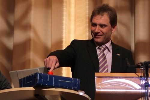 Oberbürgermeister Norbert Feith startet Bürgerhaushalt