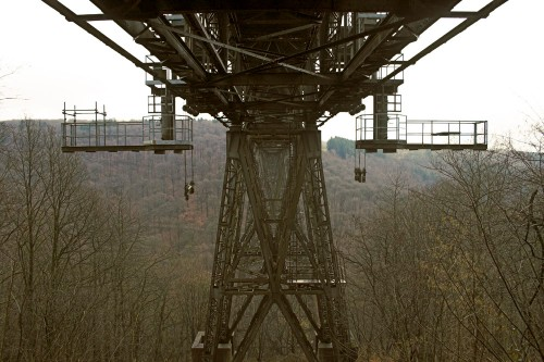 Müngstener Brücke, Unterseite