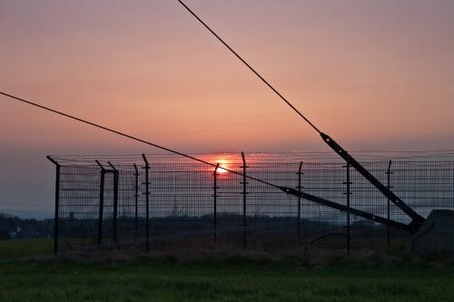 Sonnenuntergang am Äu