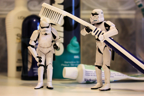 Stormtroopers by flickr-user Stéfan