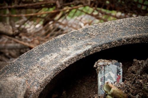Diesen Reifen versenkte ihnen: Marianne Mustermann