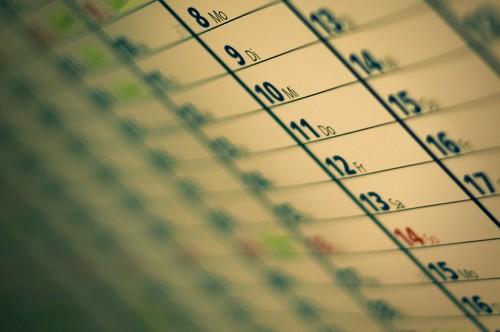 Bokehkalender