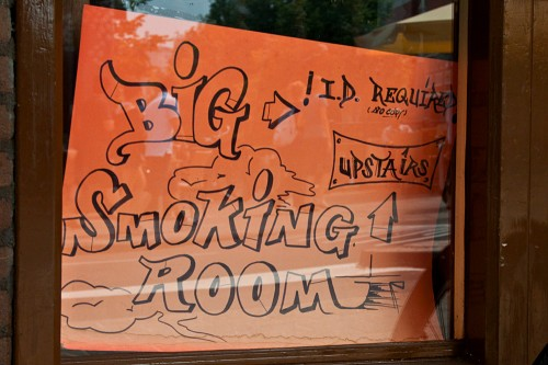 Big Smoking Room