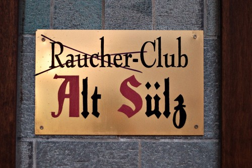 (Raucher)-Club Alt Sülz