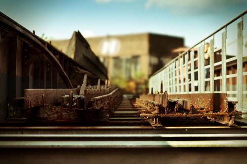 Hochbahn auf Zollverein