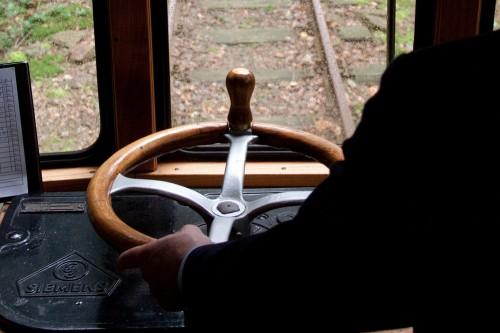 Triebwagen 107 der bergischen Museumsbahn, Fahrschalter
