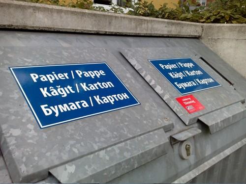 Papier Pappe Kagit Karton