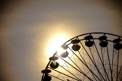 Riesenrad auf dem Zöppkesmarkt