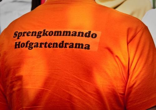 Sprengkommando Hofgartendrama