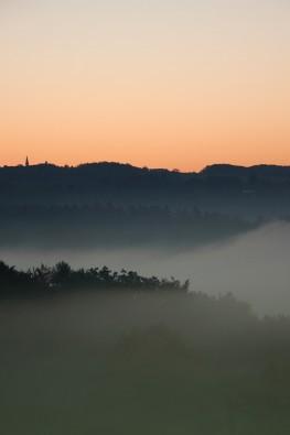 Wuppernebel am frühen Morgen