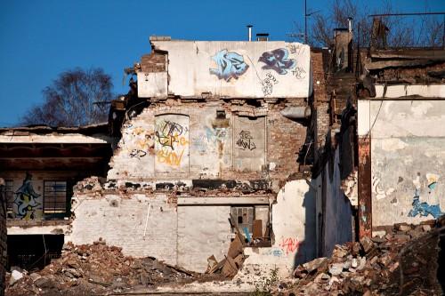 Überreste der Beckmann Brauerei