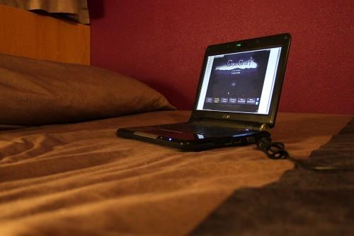 Gemcraft im Hotel