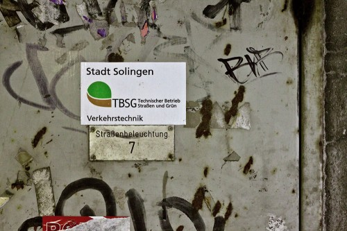 Stadt Solingen TBSG Verkehrstechnik