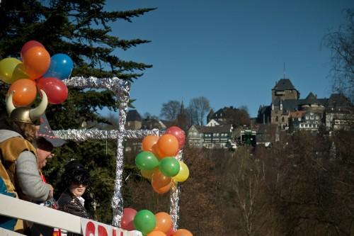 Karnevalsumzug Unterburg