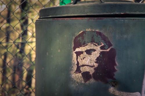 Planet der Affen Stencil Streetart Solingen