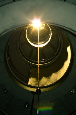 Lichtturm Dinnebier Aufgang Lichtschacht