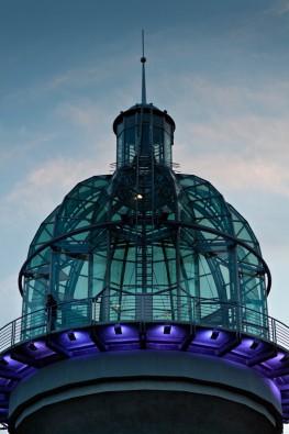 Lichtturm DInnebier Kuppel